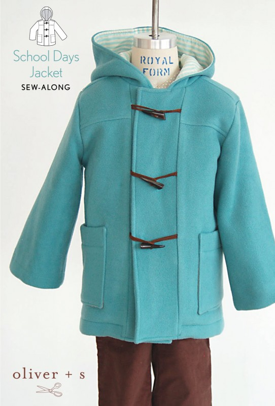 The Oliver + S School Days Jacket Sew-Along