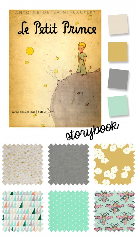 Storybook color palette