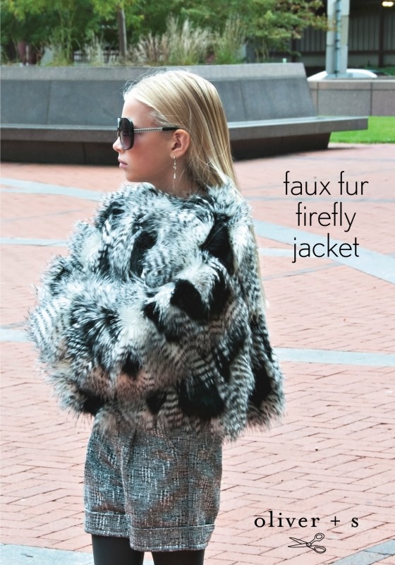 Faux fur Oliver + S Firefly Jacket
