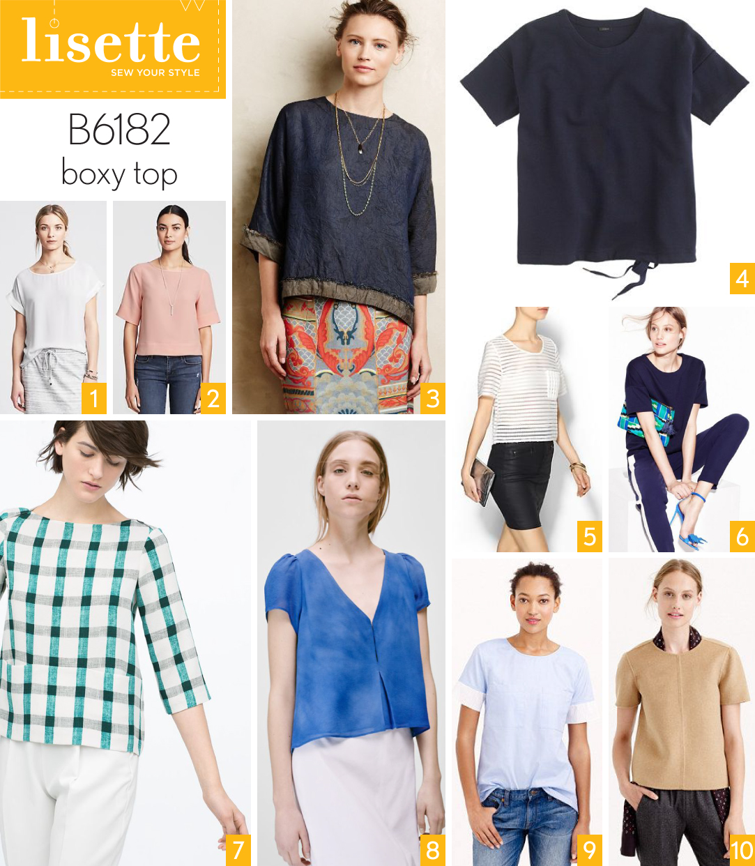 Style and fabric inspiration lisette b6182 boxy top blog b6182 1 jeuxipadfo Image collections