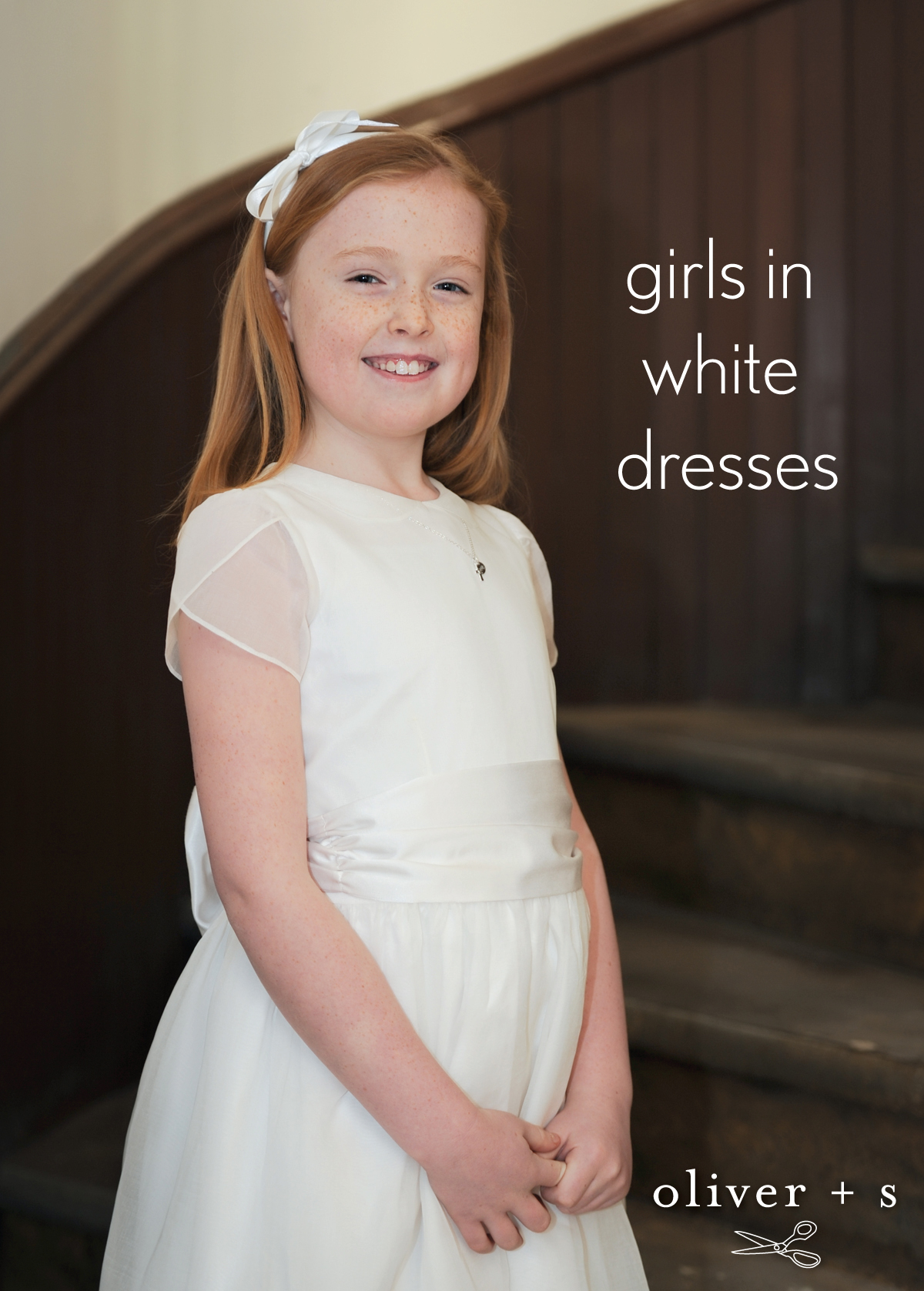 girls in white dresses blog oliver s