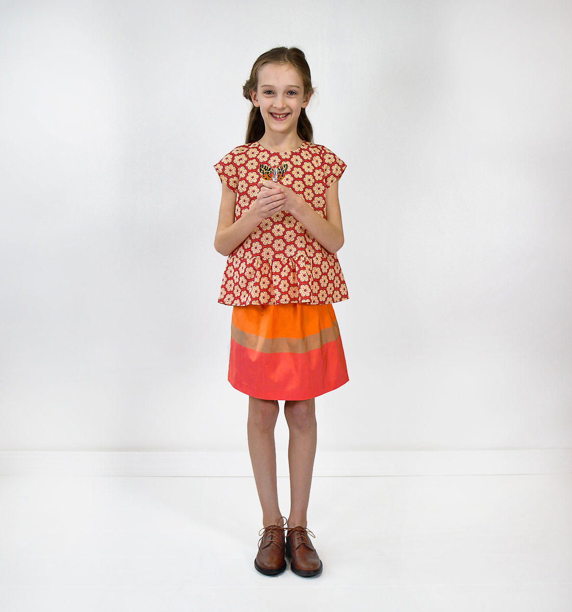 Introducing the Butterfly Blouse + Skirt Sewing Pattern ...