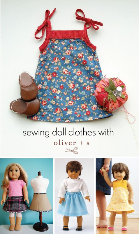 Oliver + S 18-inch doll clothes patterns