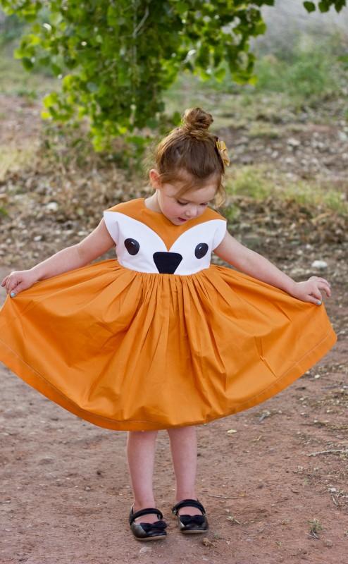 Fox Playtime Dress - Oliver + S