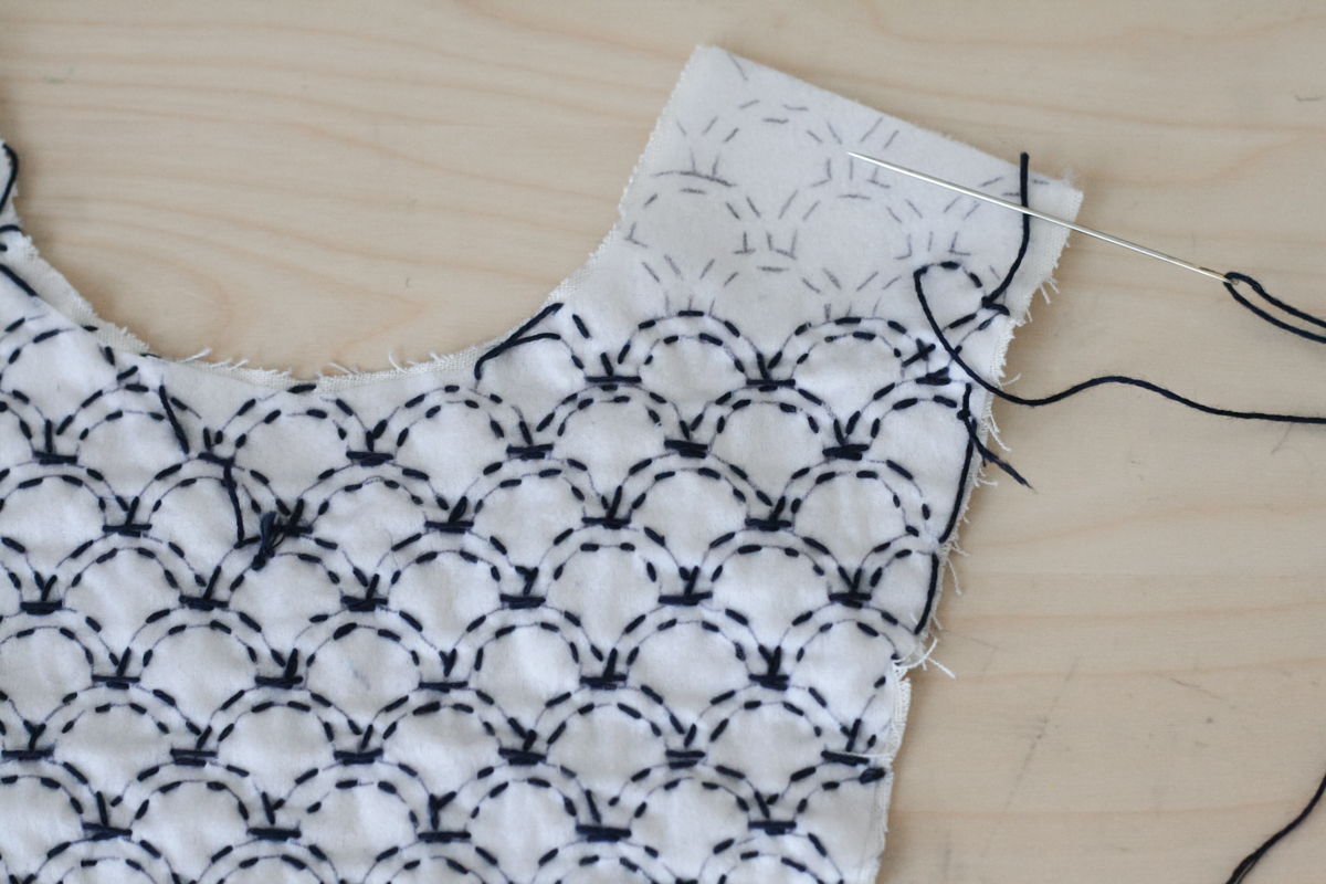 Sashiko Patterns Custom Decoration