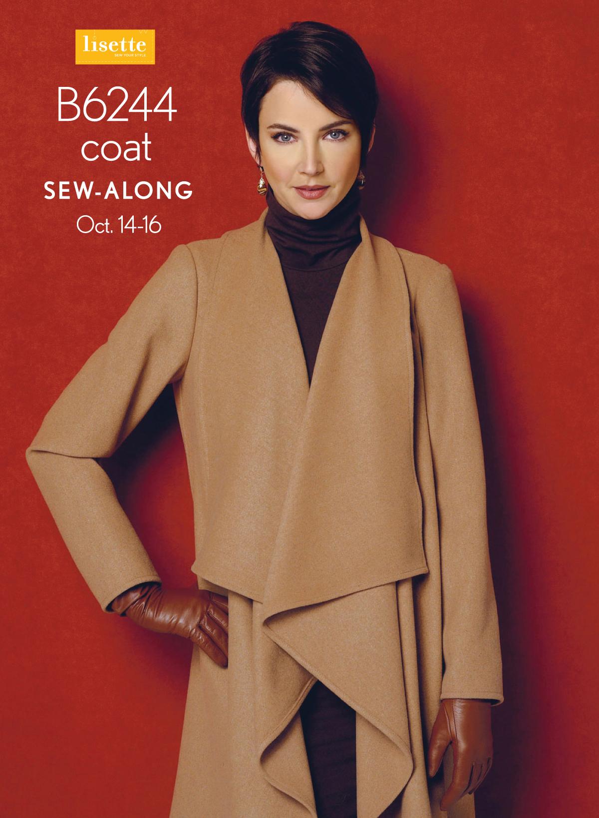 Lisette for Butterick B6244 Coat Sew Along   Blog   Oliver + S