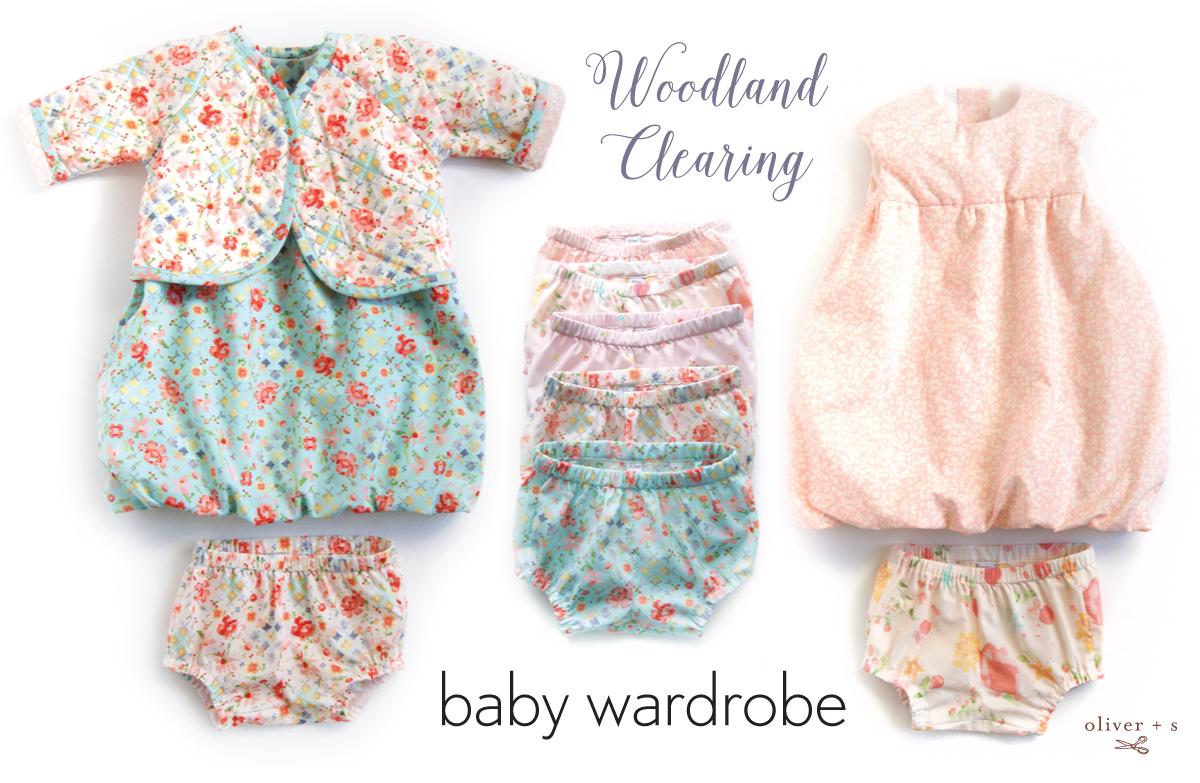 Sew Tell Rachel S Woodland Clearing Baby Wardrobe