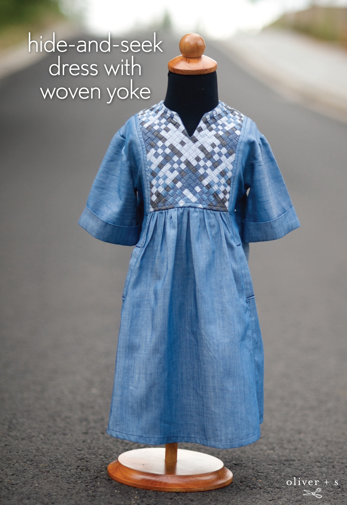 Hide And Seek Dress With Woven Yoke Blog Oliver S