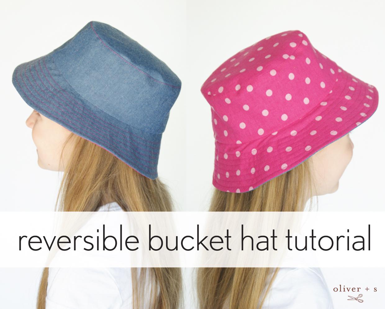 Reversible Bucket Hat Tutorial | Blog | Oliver + S
