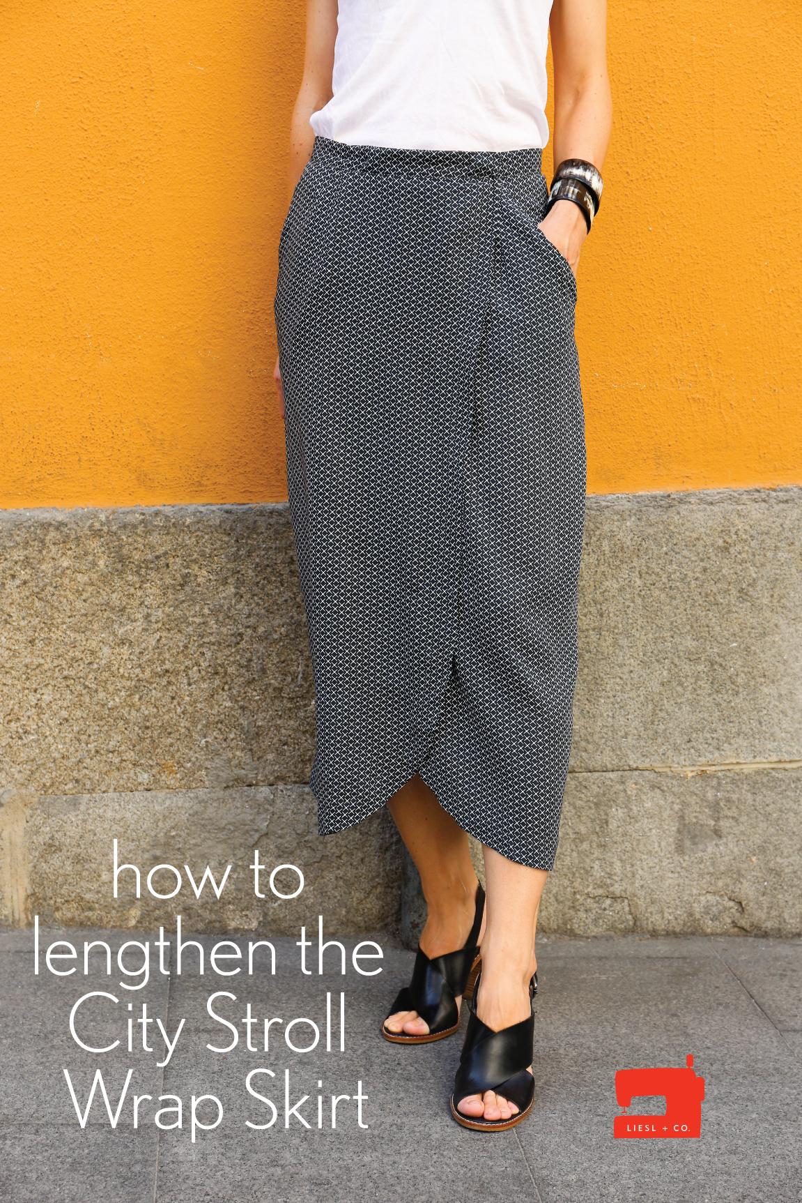 Lengthened City Stroll Wrap Skirt | Blog | Oliver + S