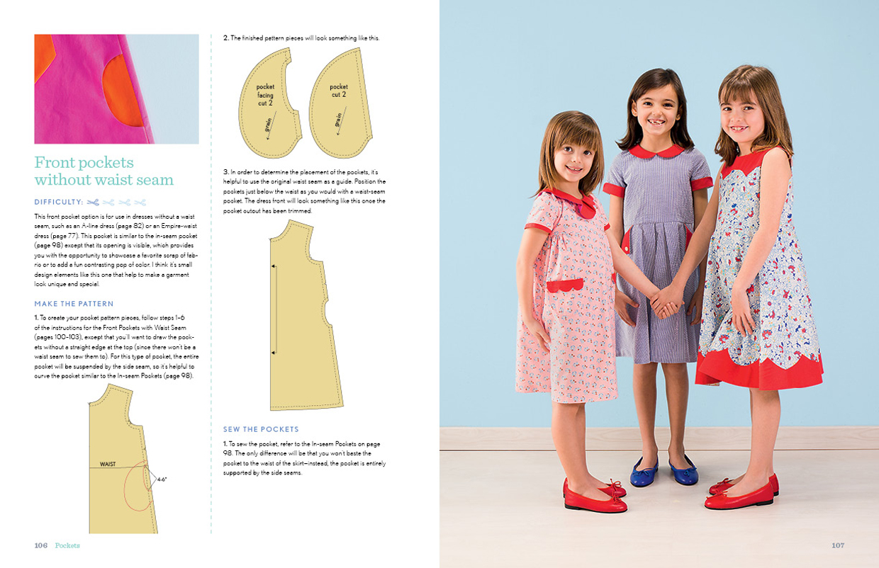 Oliver s building block dress shop oliver s collar and necklines if youve ever wanted to add a collar to an existing pattern heres how in this section i teach you how easy it is to draft a jeuxipadfo Image collections