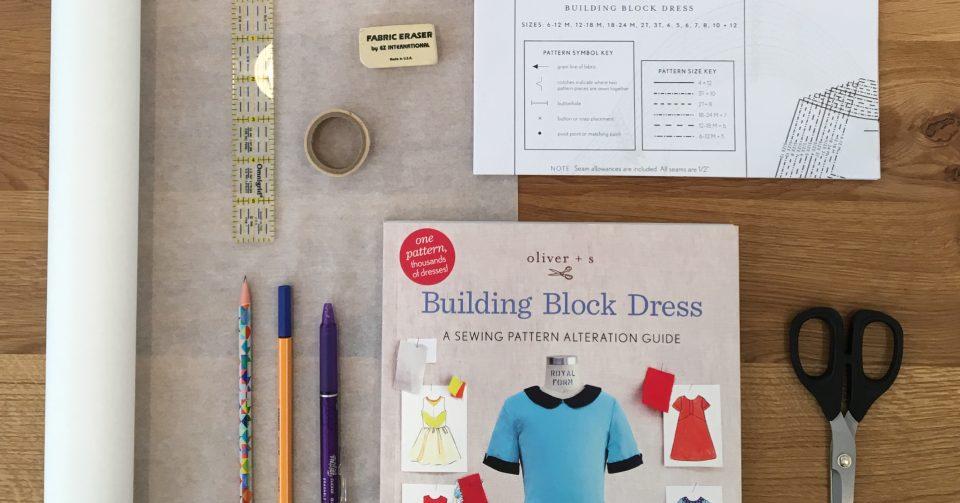 Oliver + S Building Block Dress book tour