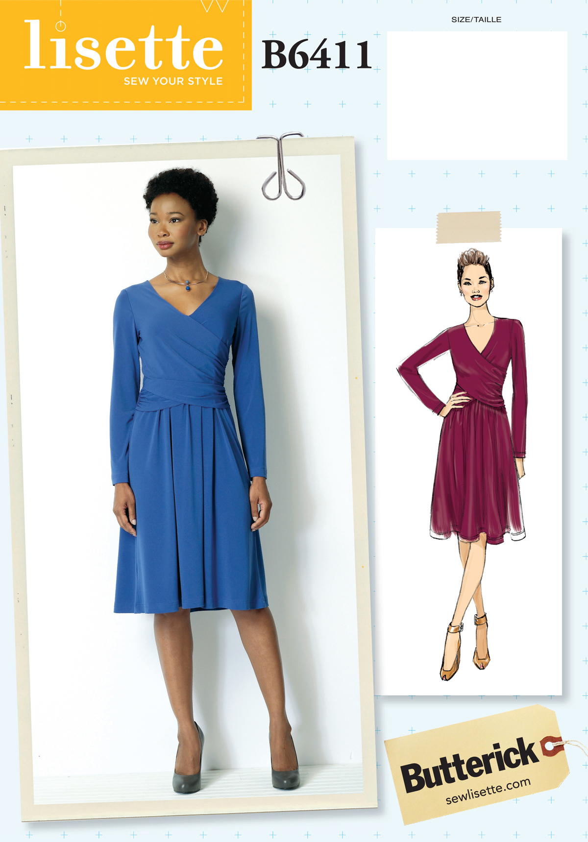 bfce6cac4 introducing the new lisette B6411 dress for butterick