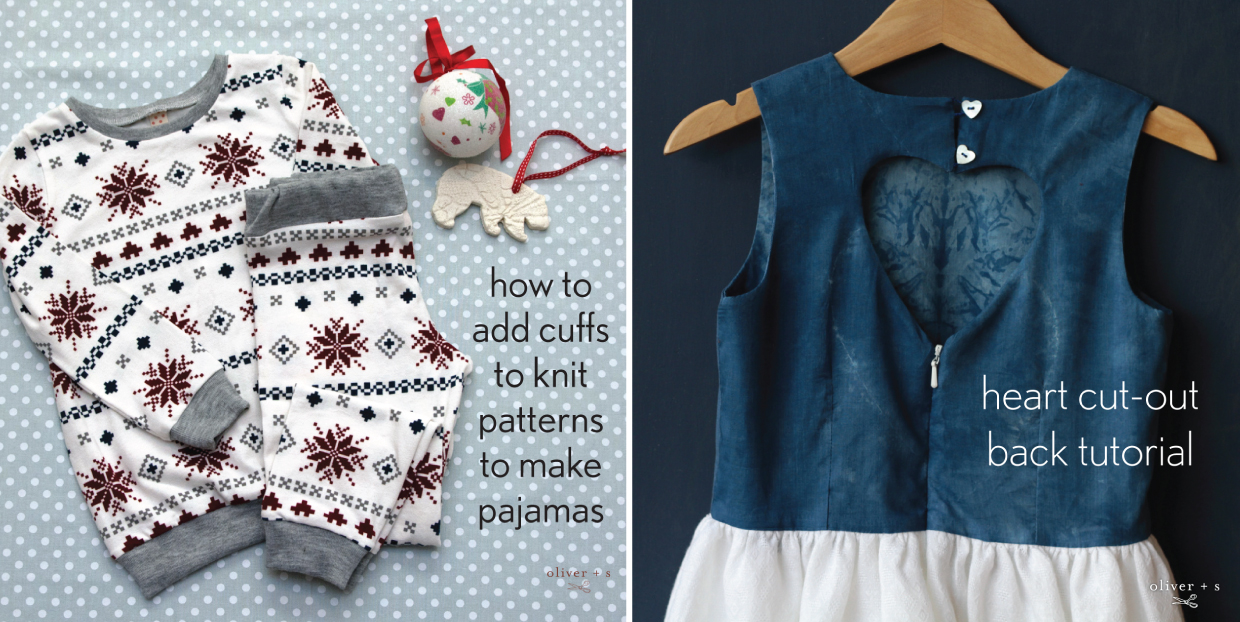 Ten Holiday Sewing Project Ideas   Blog   Oliver + S