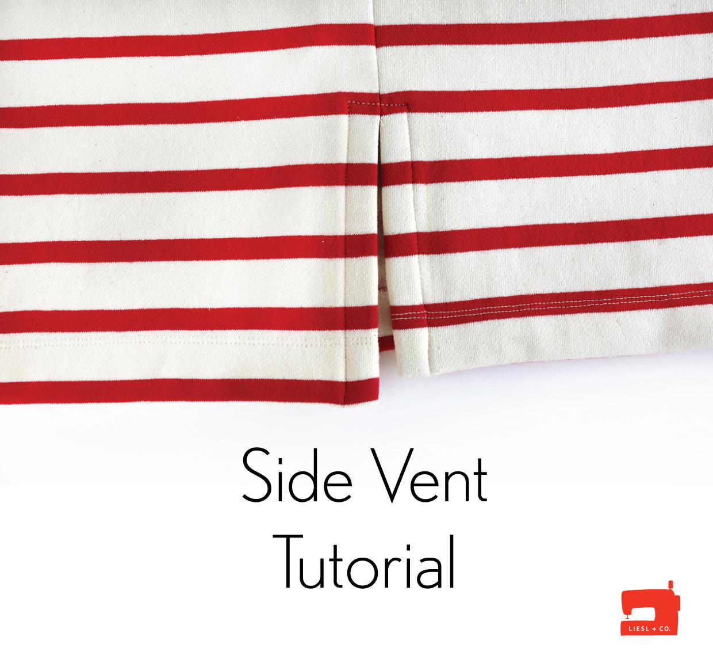 Side Vent Tutorial | Blog | Oliver S