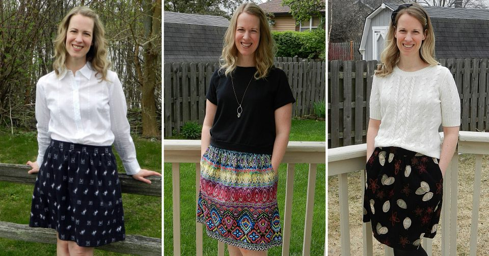 Liesl + Co. Everyday Skirts