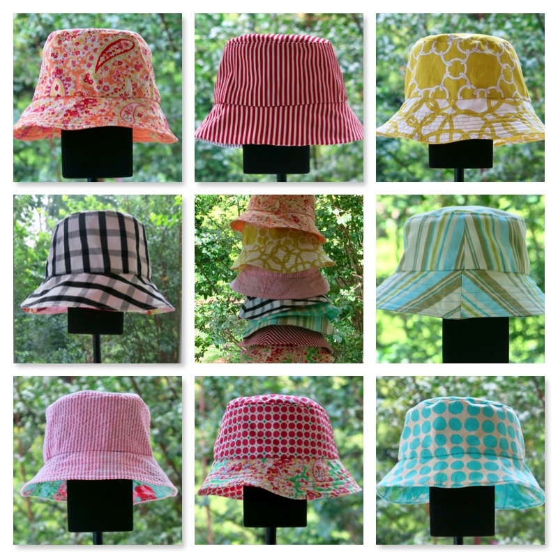 Oliver + S Reversible Bucket Hats 4b024661bb9