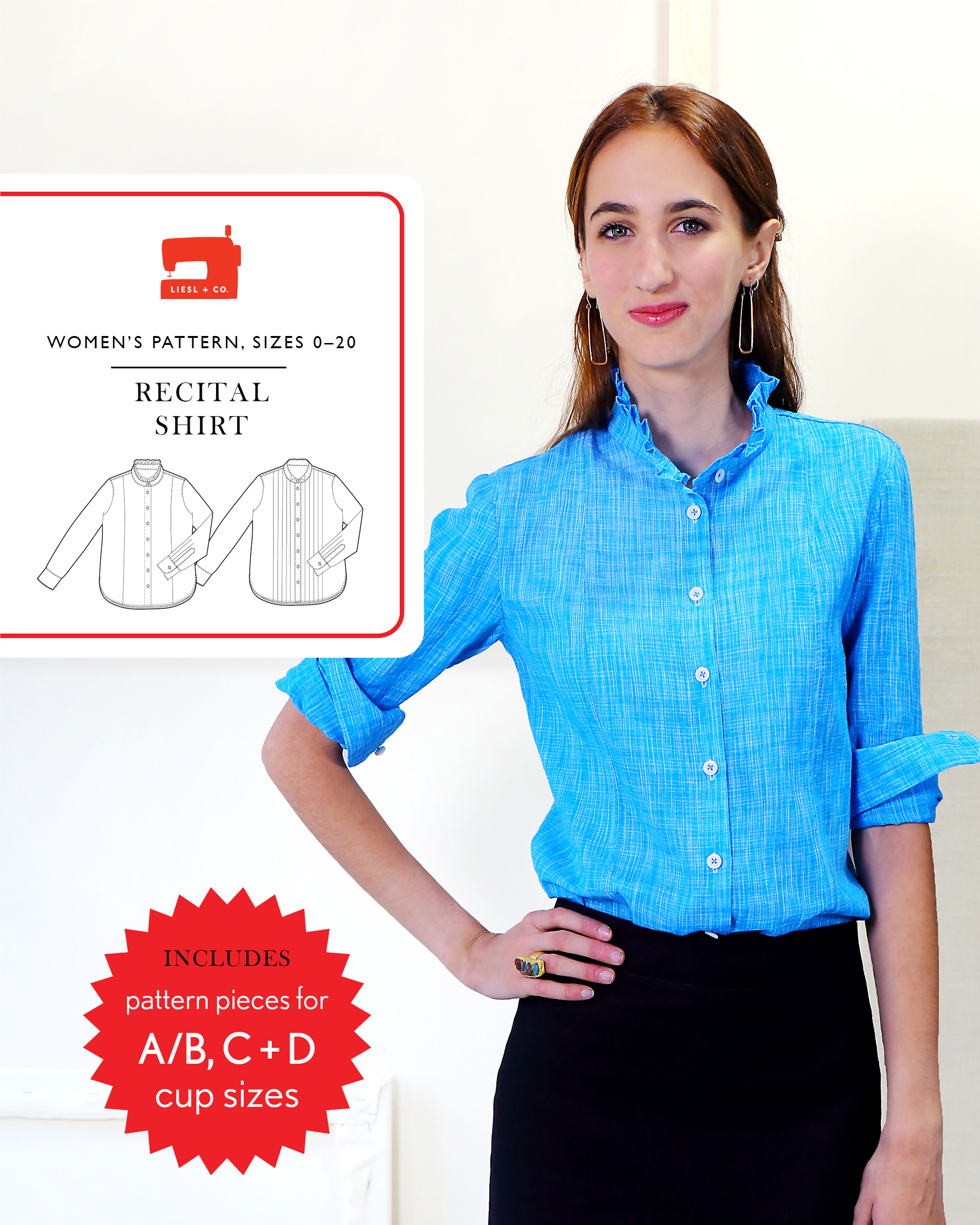 Introducing the liesl co recital shirt sewing pattern blog but its actually improved over the shirt i was wearing the day of that workshop as sometimes happens those two requests were perfectly timed jeuxipadfo Image collections