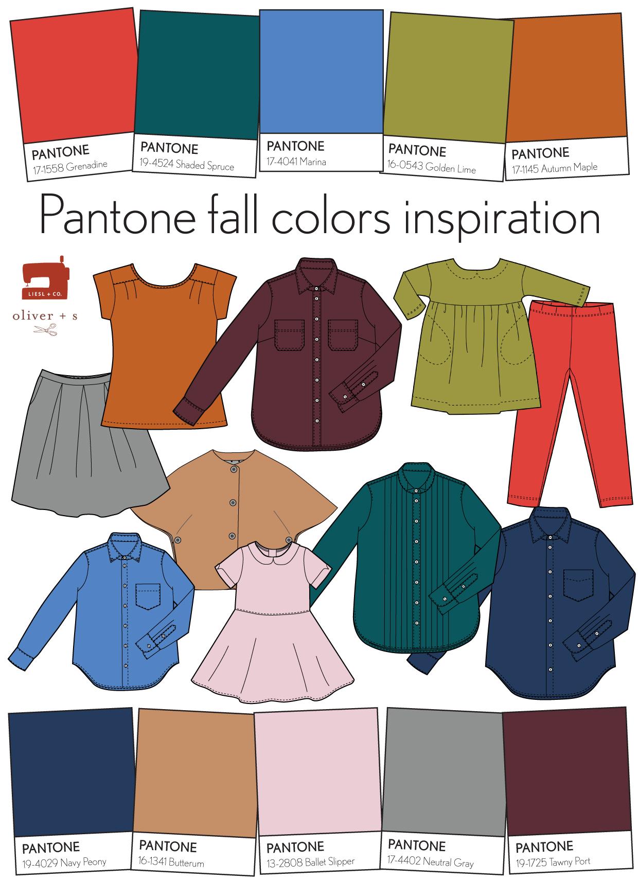 Pantone Fall 2017 Colors