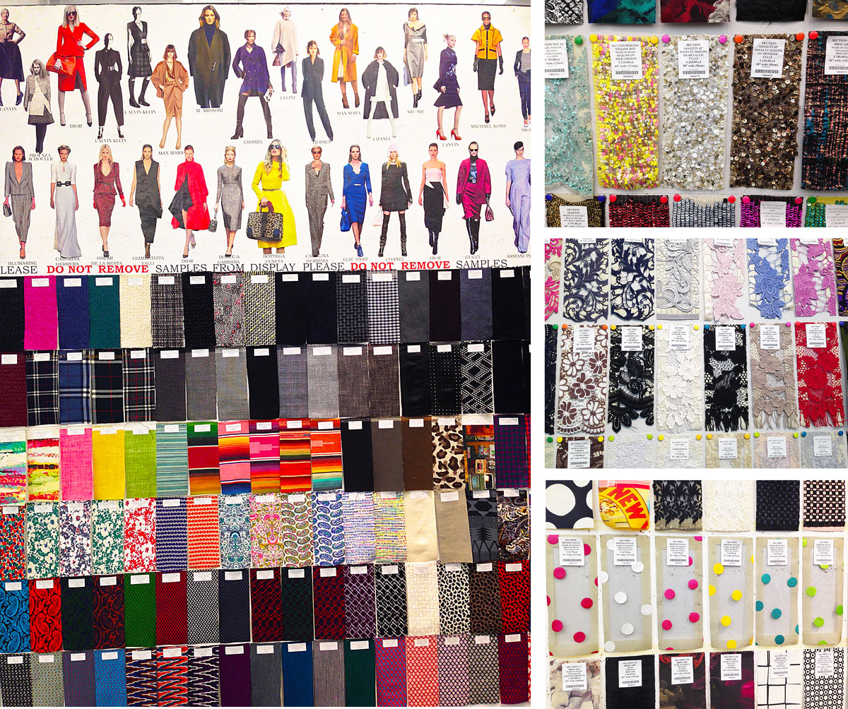 Fabric Shopping In New York S Garment District Manhattan Oliver