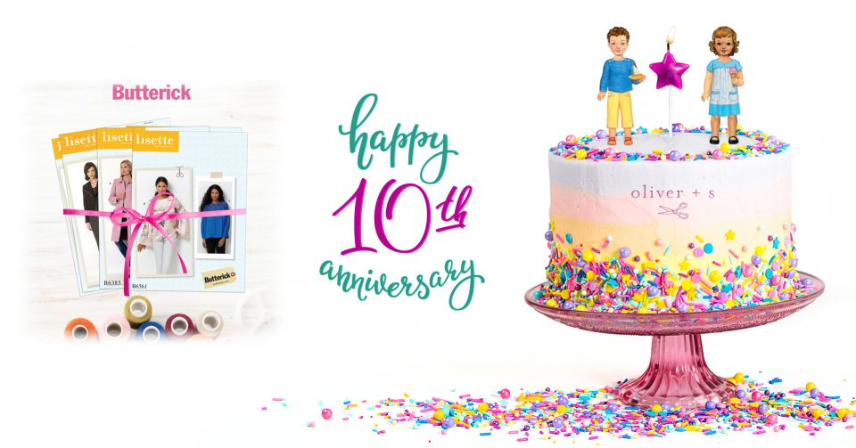 Anniversary Giveaway from Butterick Patterns