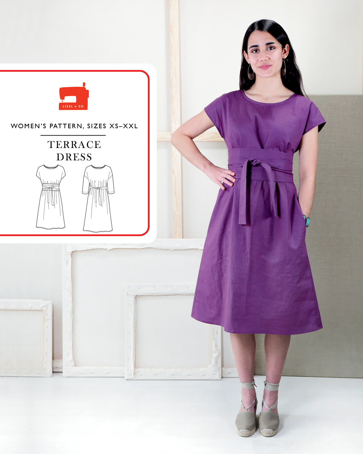 Introducing the Liesl + Co. Terrace Dress Sewing Pattern | Blog ...
