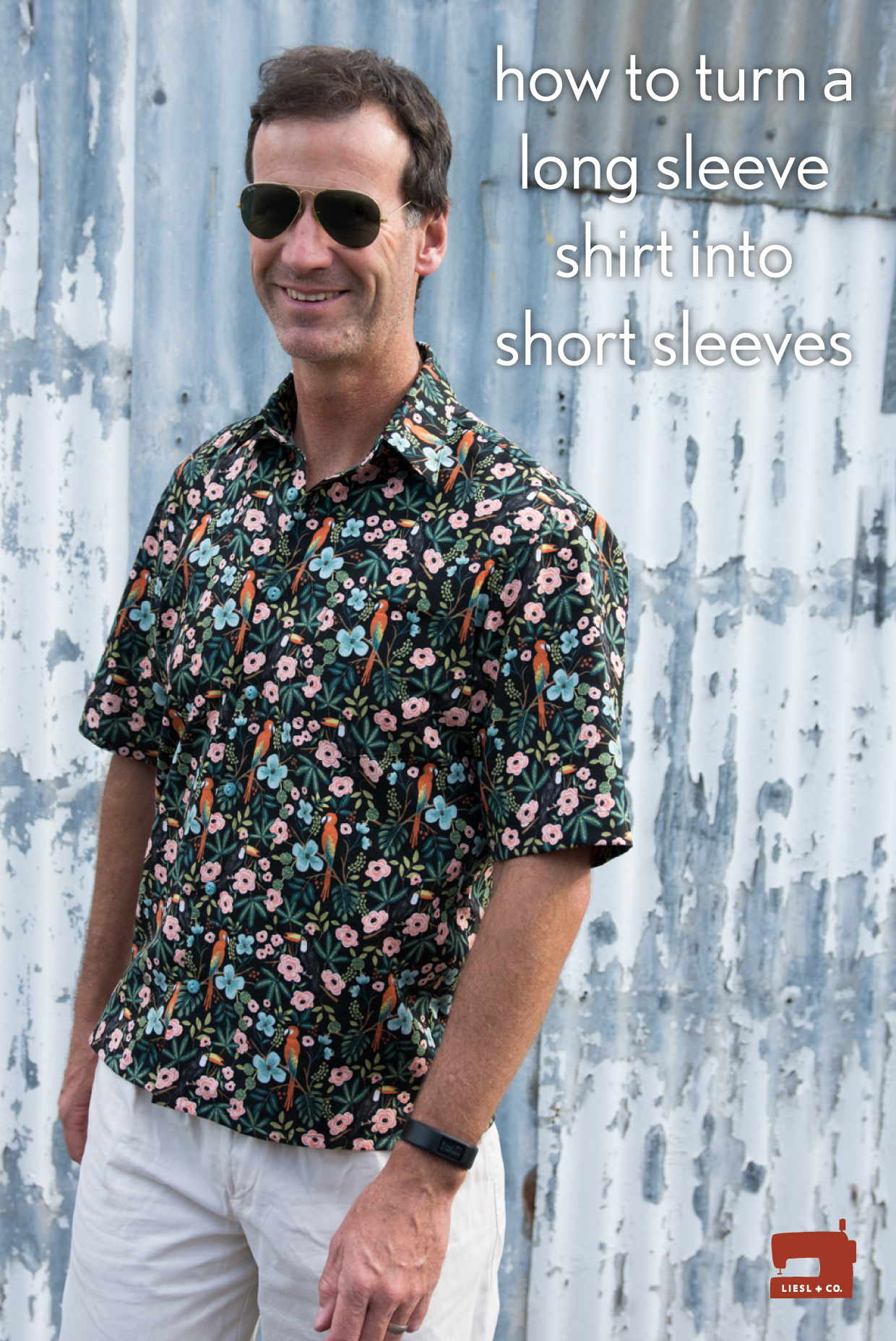 How To Turn A Long Sleeve Shirt Into Short Sleeves