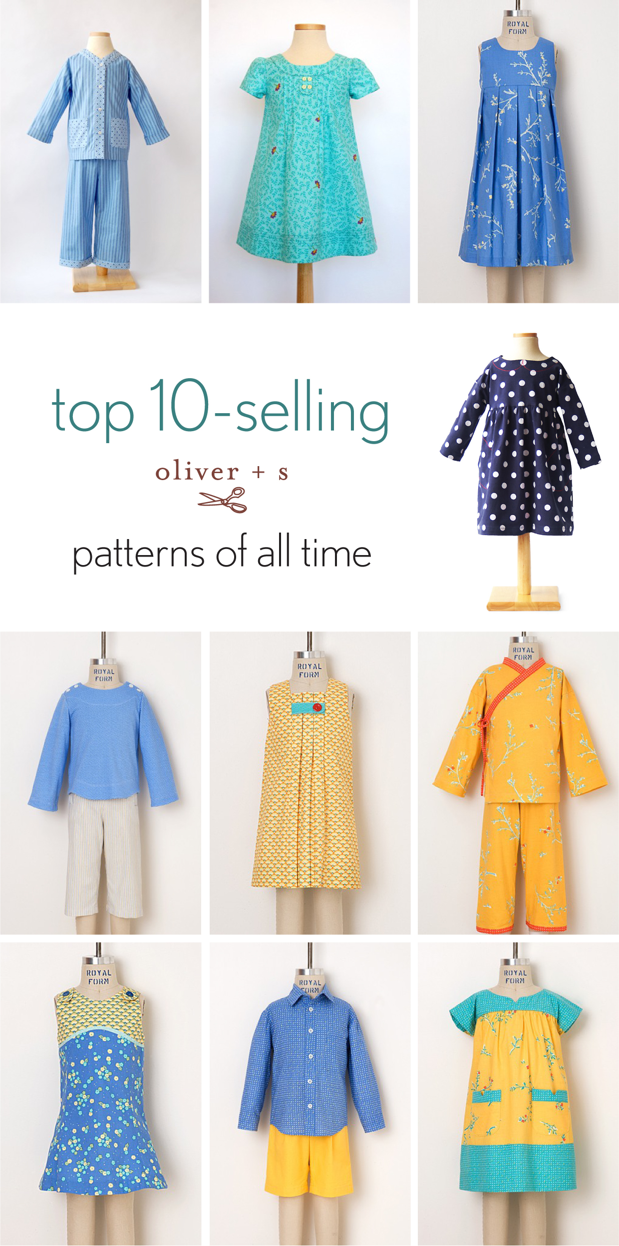 Top 10 Selling Oliver S Patterns Of All Time Blog