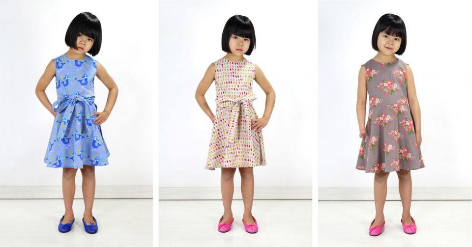 Oliver + S Cartwheel Wrap Dress