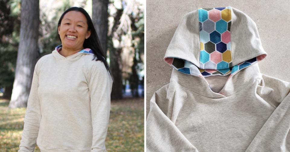 Liesl + Co. Neighborhood Hoodie as a pullover