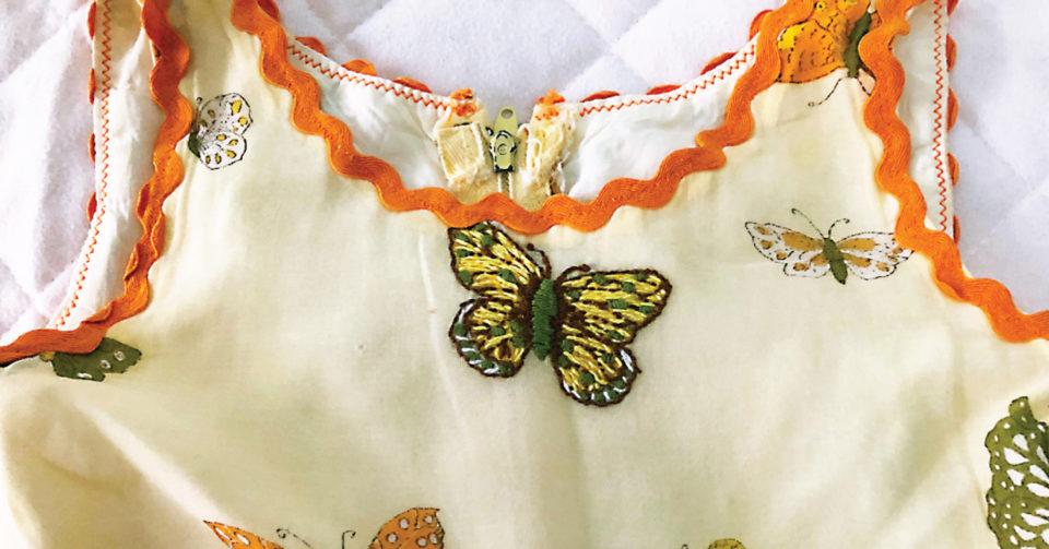 Liesl's butterfly dress, a sew story