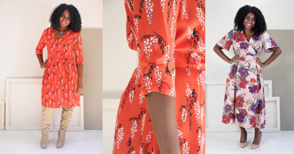 Saint-Germain Wrap Dress Sew Along