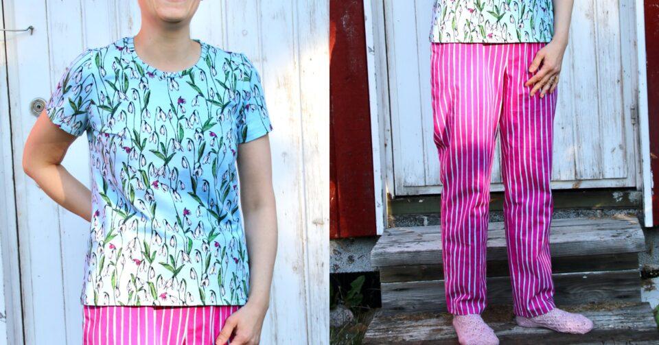 Learn to sew pajamas.