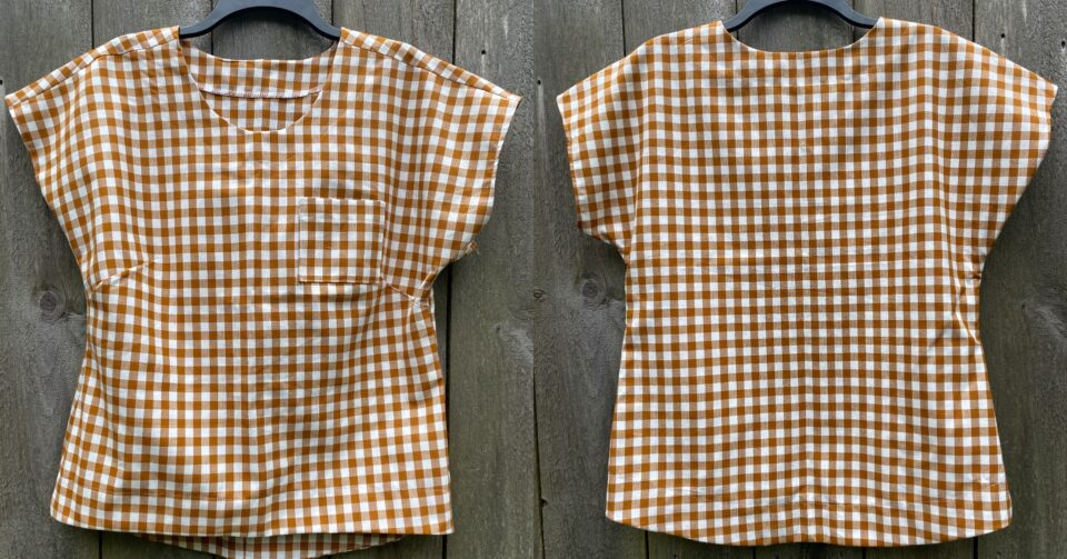 The perfect instant-gratification sewing project: Aimee's Verdun Woven T-Shirt