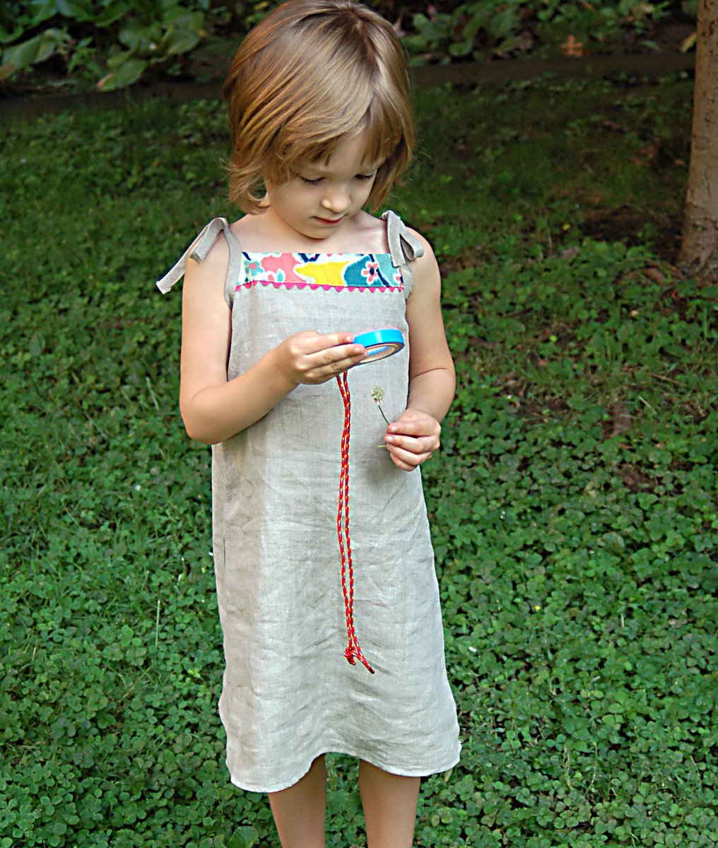 Popover Sundress: Free Downloadable Pattern | Blog | Oliver + S