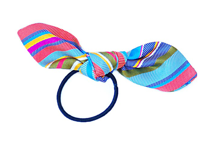 bow hair tie free sewing pattern
