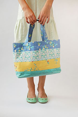 Quilt Kits > Border Print Tote Bags Kit - Jinny Beyer Studio