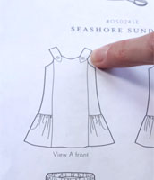 How to read a sewing pattern with Liesl Gibson