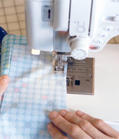 How to sew a seam with Liesl Gibson