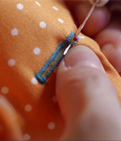 How to sew buttonholes with Liesl Gibson