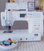 Sewing machine basics with Liesl Gibson