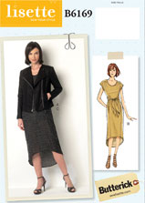 lisette for butterick B6169 sewing pattern