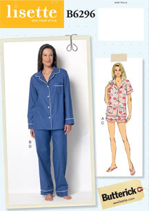 lisette for butterick B6296 sewing pattern