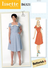 lisette for butterick B6321 sewing pattern