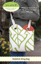 digital sidekick sling bag sewing pattern