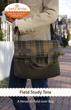 digital field study tote sewing pattern