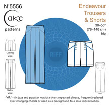 digital endeavour trousers sewing pattern