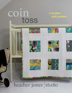 digital coin toss quilt sewing pattern