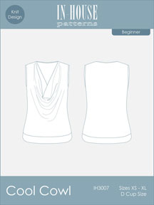digital cool cowl tank sewing pattern