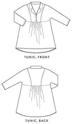 late lunch tunic sewing pattern